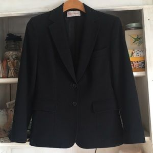Evan Picone wool blazer suit jacket 4 6 small